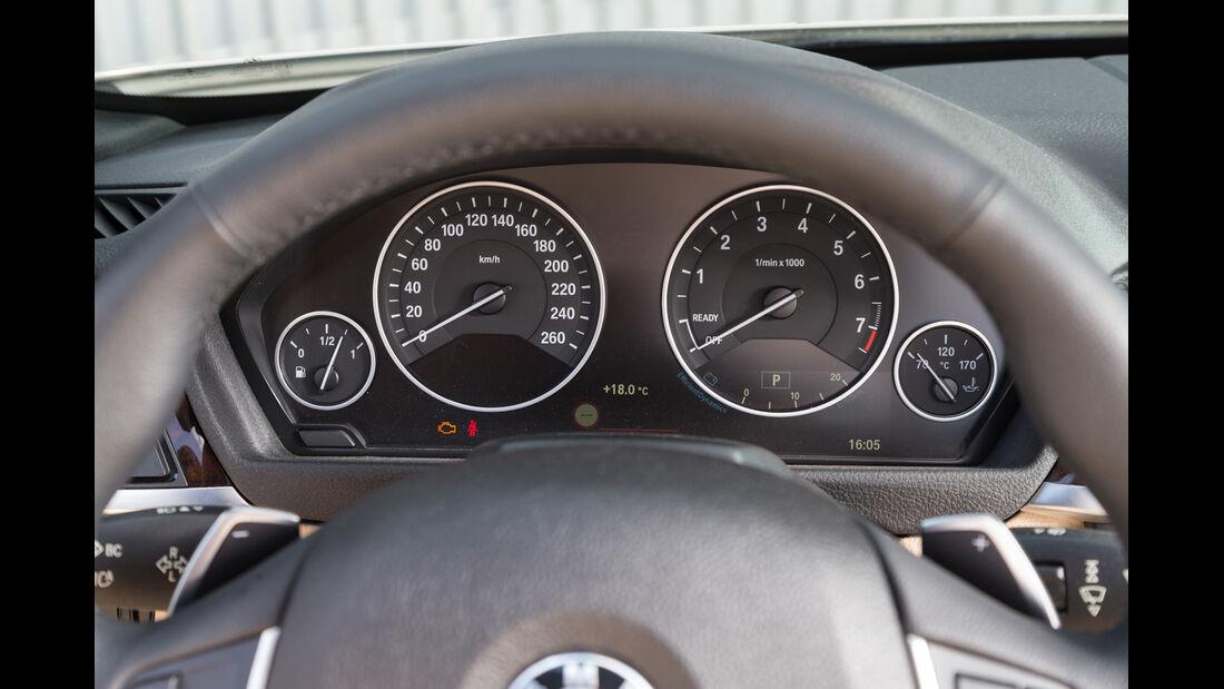 BMW 420i Cabriolet, Rundinstrumente