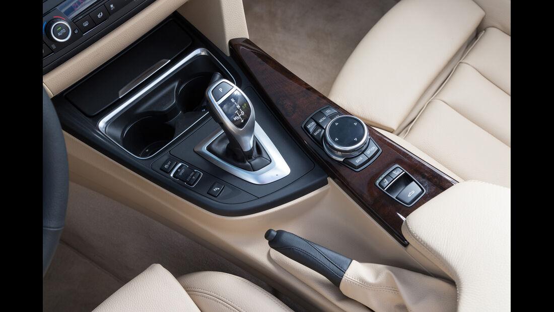 BMW 420i Cabriolet, Schalthebel