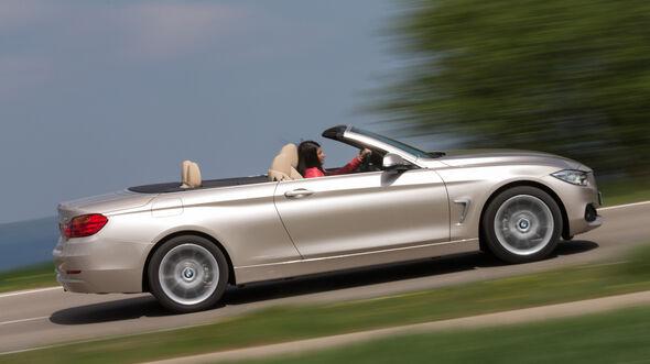 BMW 420i Cabriolet, Seitenansicht