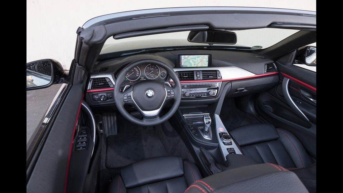 BMW 428i Cabrio, Cockpit