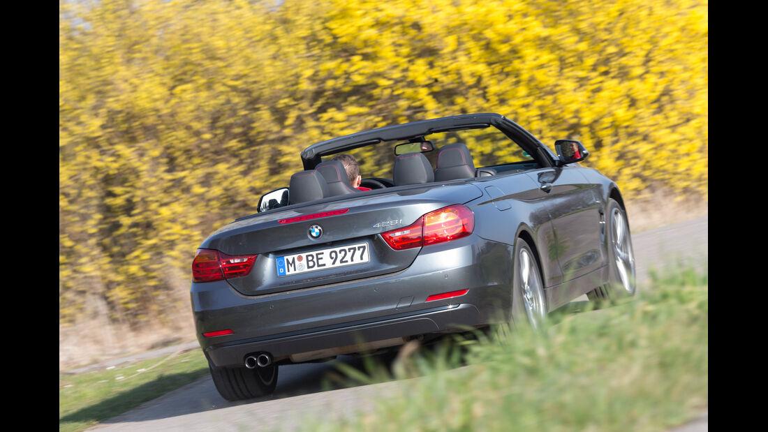BMW 428i Cabrio, Heckansicht