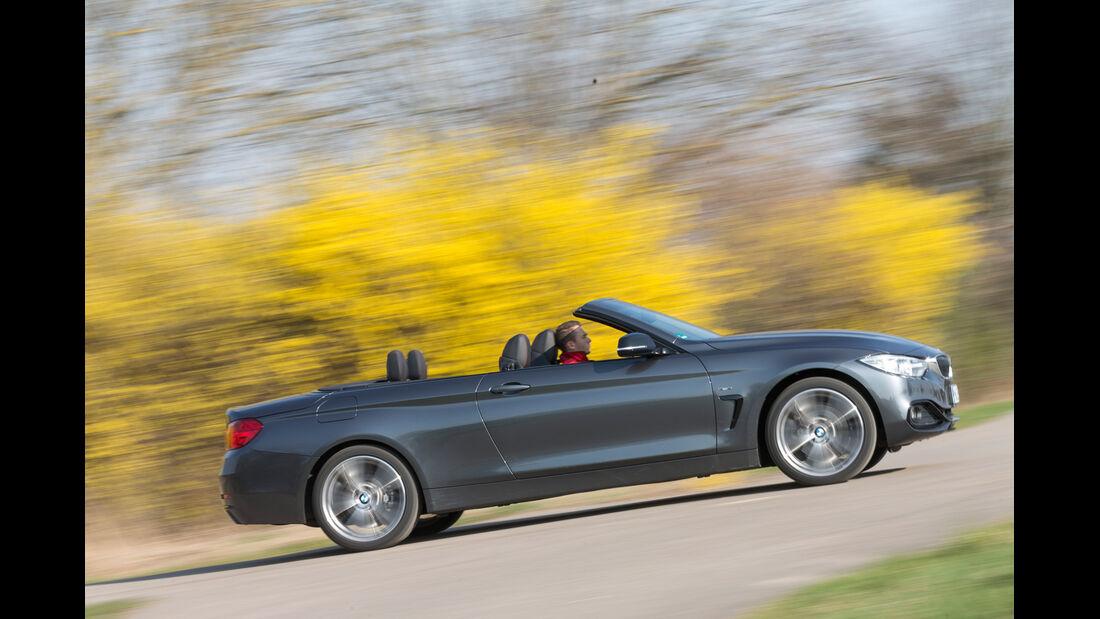 BMW 428i Cabrio, Seitenansicht