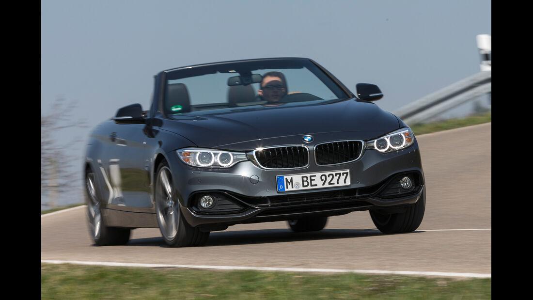 BMW 428i Cabrio Sport Line, Frontansicht