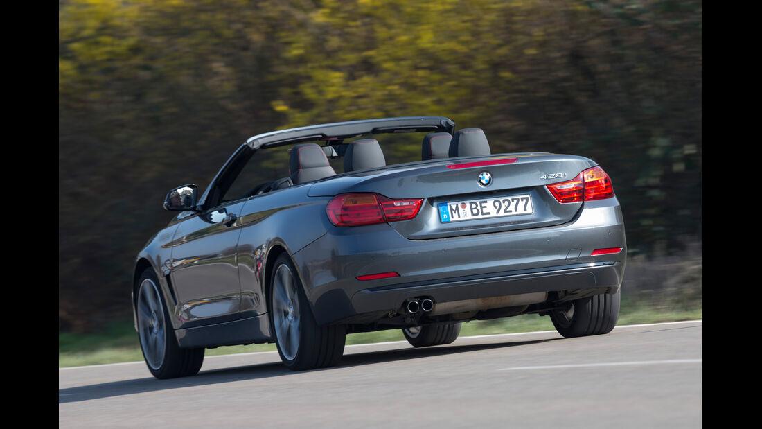 BMW 428i Cabrio Sport Line, Heckansicht