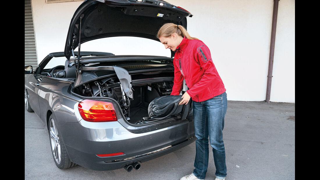 BMW 428i Cabrio Sport Line, Kofferraum