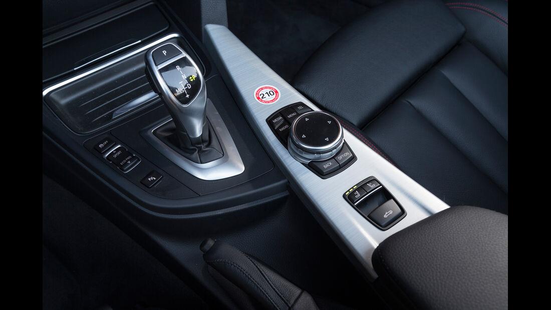 BMW 428i Cabrio Sport Line, Schalthebel
