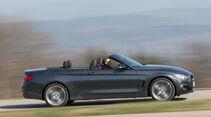BMW 428i Cabrio Sport Line, Seitenansicht