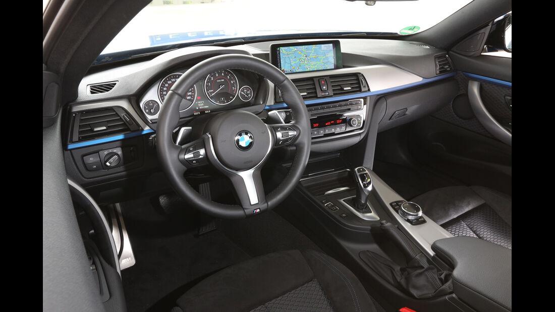BMW 428i, Cockpit