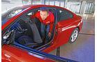 BMW 428i Coupé, Aussteigen