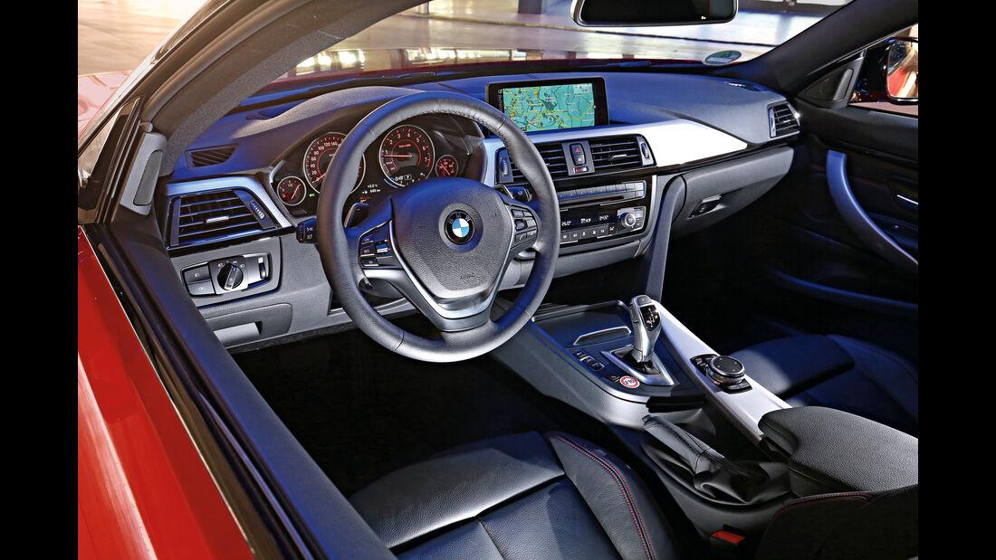 BMW 428i Coupé, Cockpit