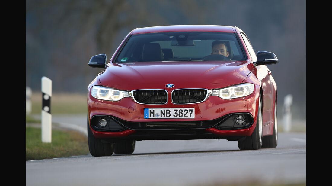 BMW 428i Coupé, Frontansicht