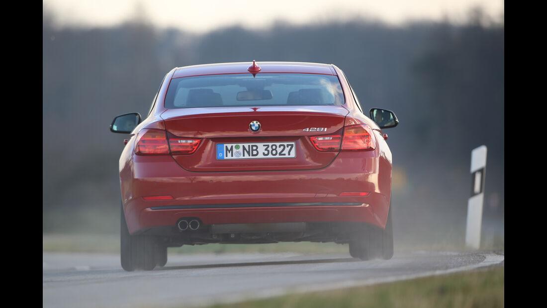 BMW 428i Coupé, Heckansicht