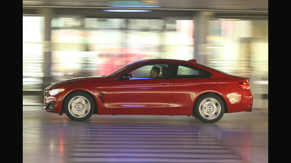 BMW 428i Coupé, Seitenansicht