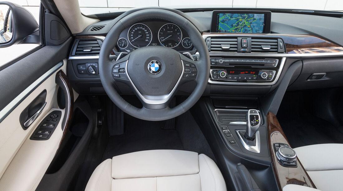BMW 428i Gran Coupé, Cockpit