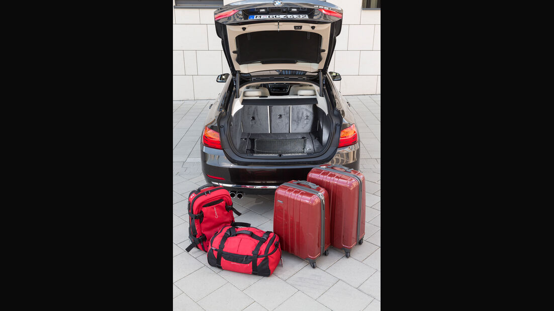 BMW 428i Gran Coupé, Kofferraum, Volumen