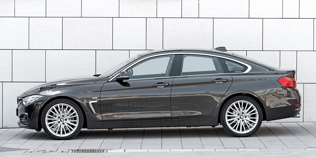 BMW 428i Gran Coupé, Seitenansicht