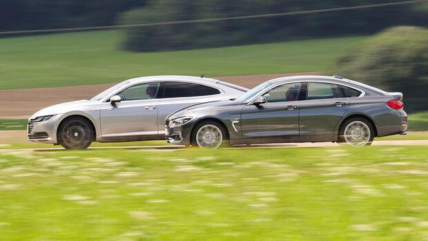BMW 430d Gran Coupé xDrive Luxury Line, VW Arteon 2.0 TDI 4Motion Elegance, Exterieur