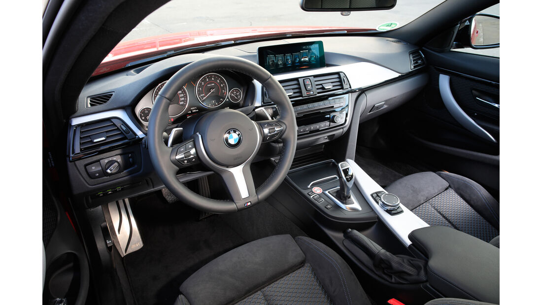BMW 430i Coupé, Cockpit