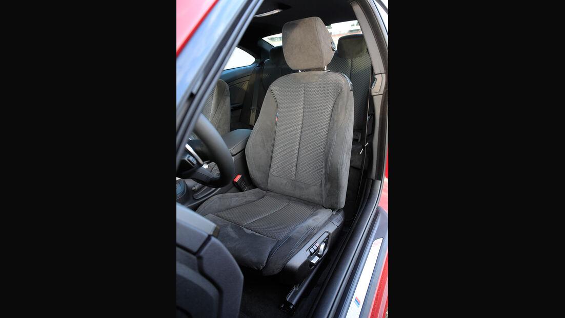 BMW 430i Coupé, Fahrersitz