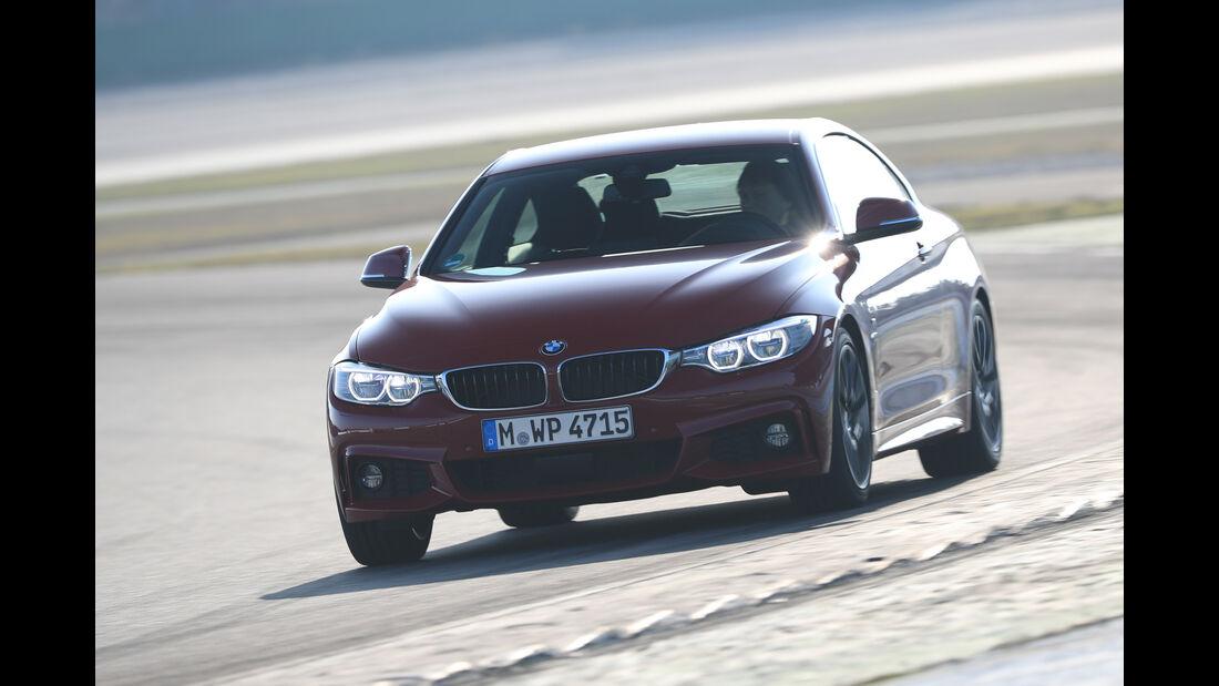 BMW 430i Coupé, Frontansicht