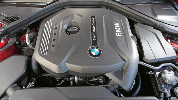 BMW 430i Coupé, Motor