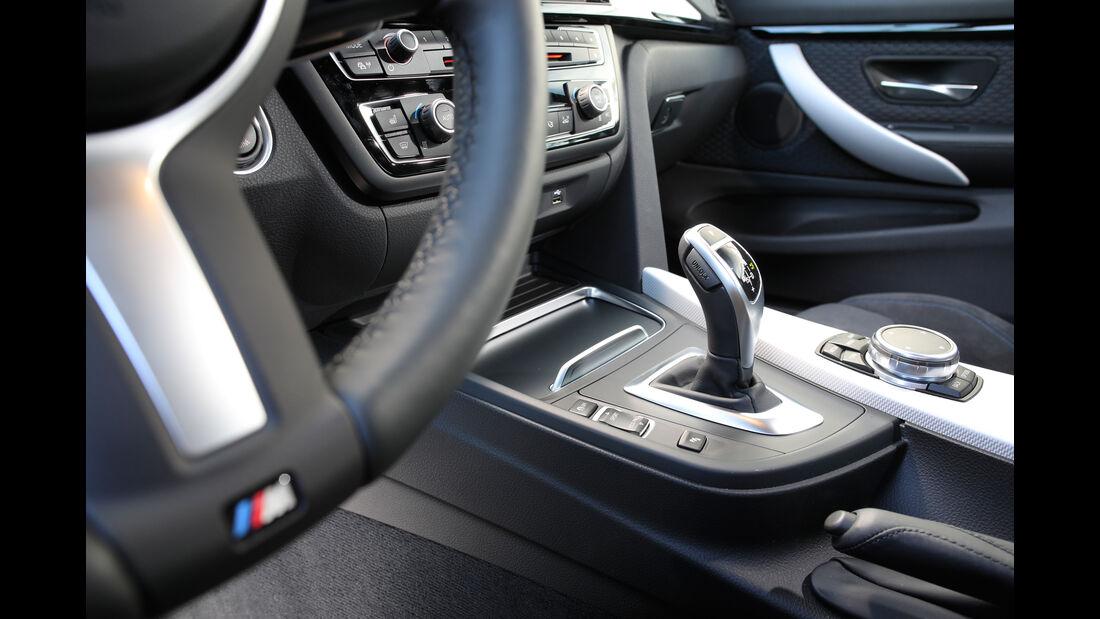 BMW 430i Coupé, Schalthebel