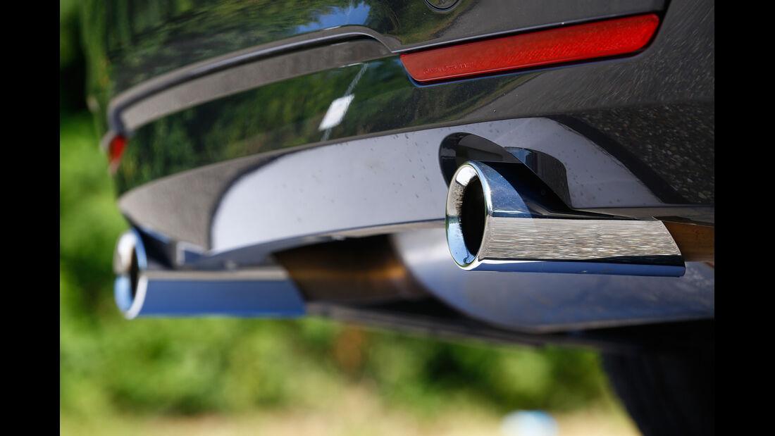 BMW 435i, Auspuff, Endrohre