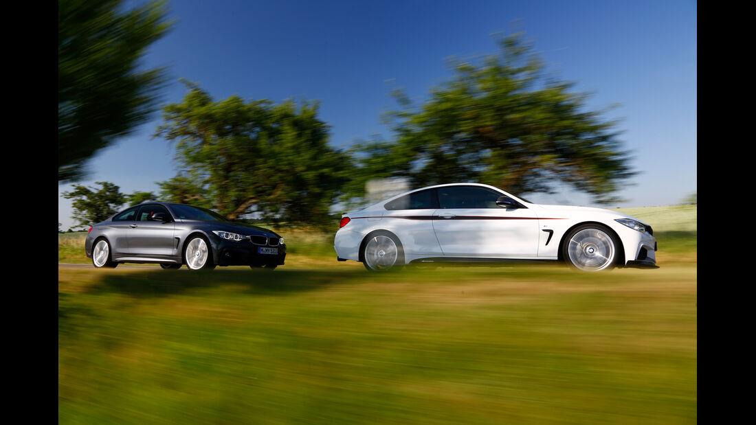 BMW 435i, BMW 435i M Performance, Seitenansicht