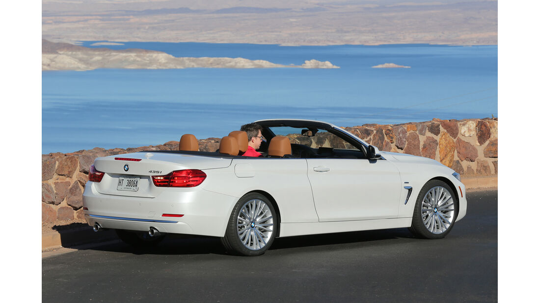 BMW 435i Cabrio, Heckansicht