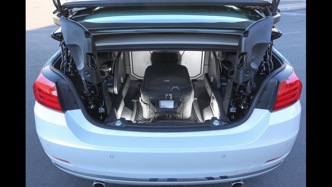 BMW 435i Cabrio, Kofferraum