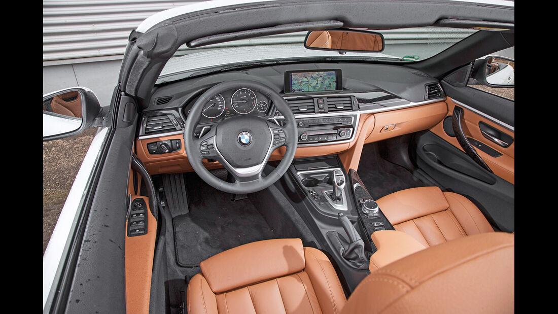 BMW 435i Cabrio Luxury Line, Cockpit