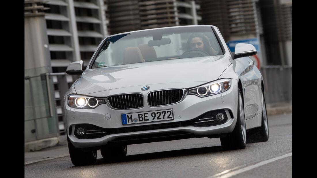 BMW 435i Cabrio Luxury Line, Frontansicht