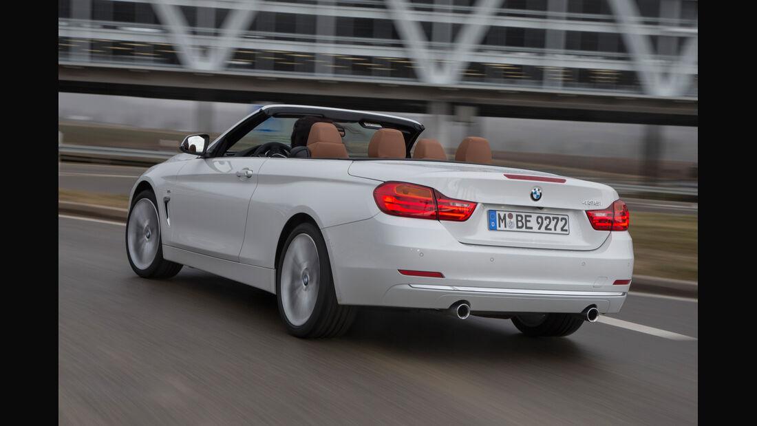 BMW 435i Cabrio Luxury Line, Heckansicht