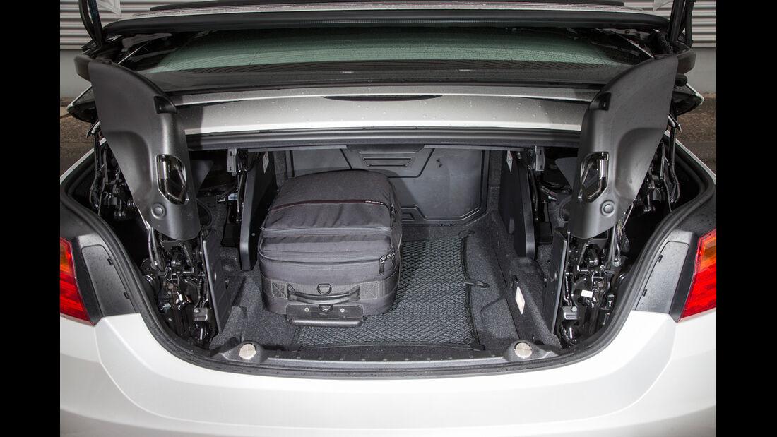 BMW 435i Cabrio Luxury Line, Kofferraum, Ladevolumen