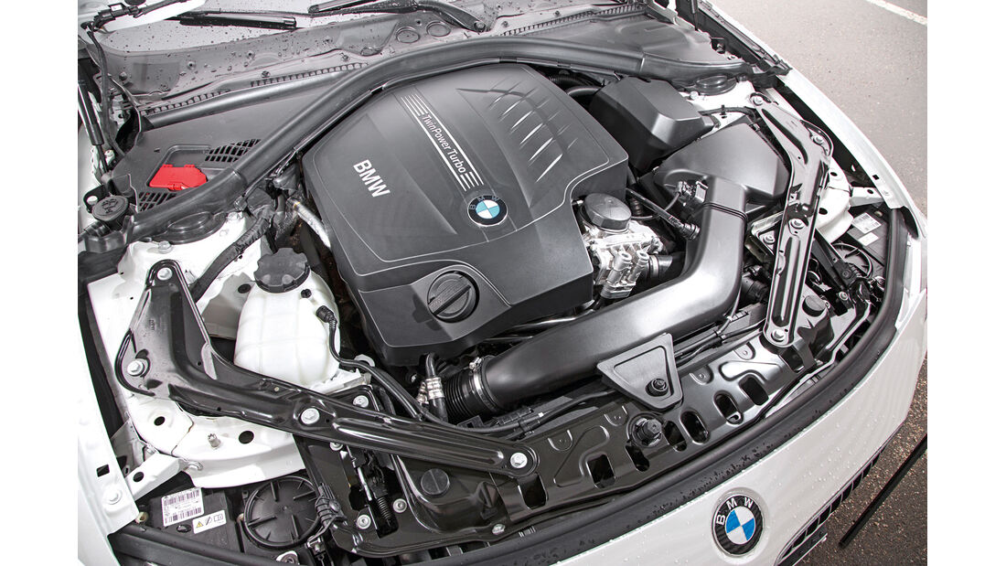 BMW 435i Cabrio Luxury Line, Motor