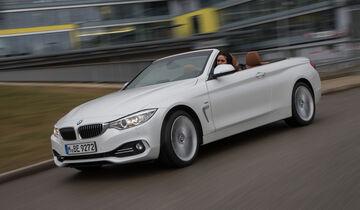BMW 435i Cabrio Luxury Line, Seitenansicht