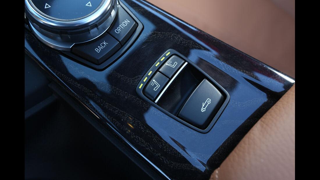 BMW 435i Cabrio, Mittelkonsole, Bedienelemente