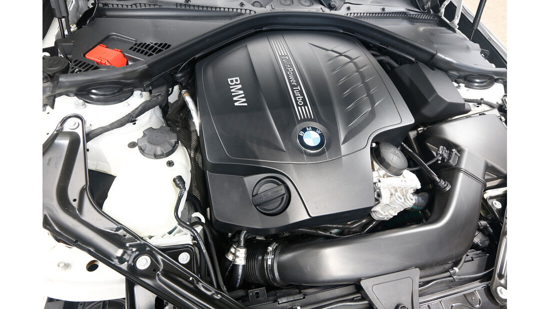 BMW 435i Cabrio, Motor