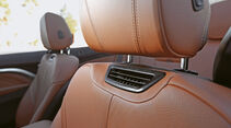 BMW 435i Cabrio, Nackenfön, Sitze