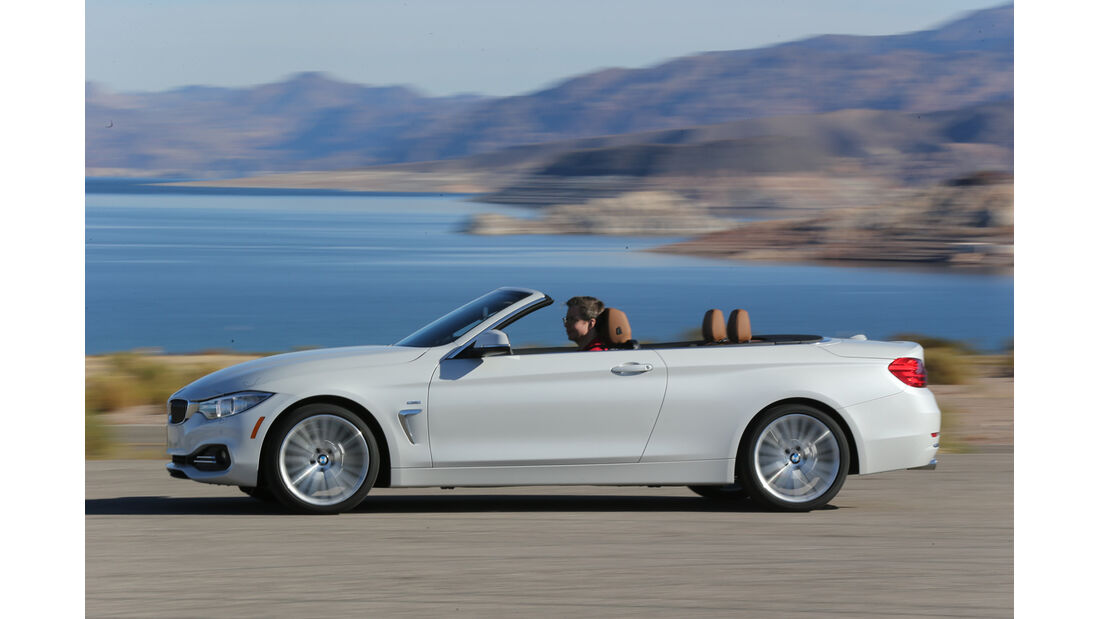 BMW 435i Cabrio, Seitenansicht