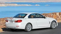 BMW 435i Cabrio, Seitenansicht, Geschlossen