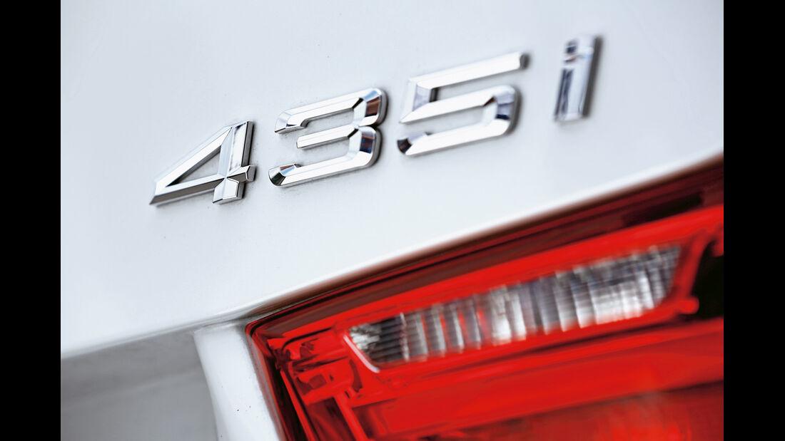 BMW 435i Cabrio, Typenbezeichnung