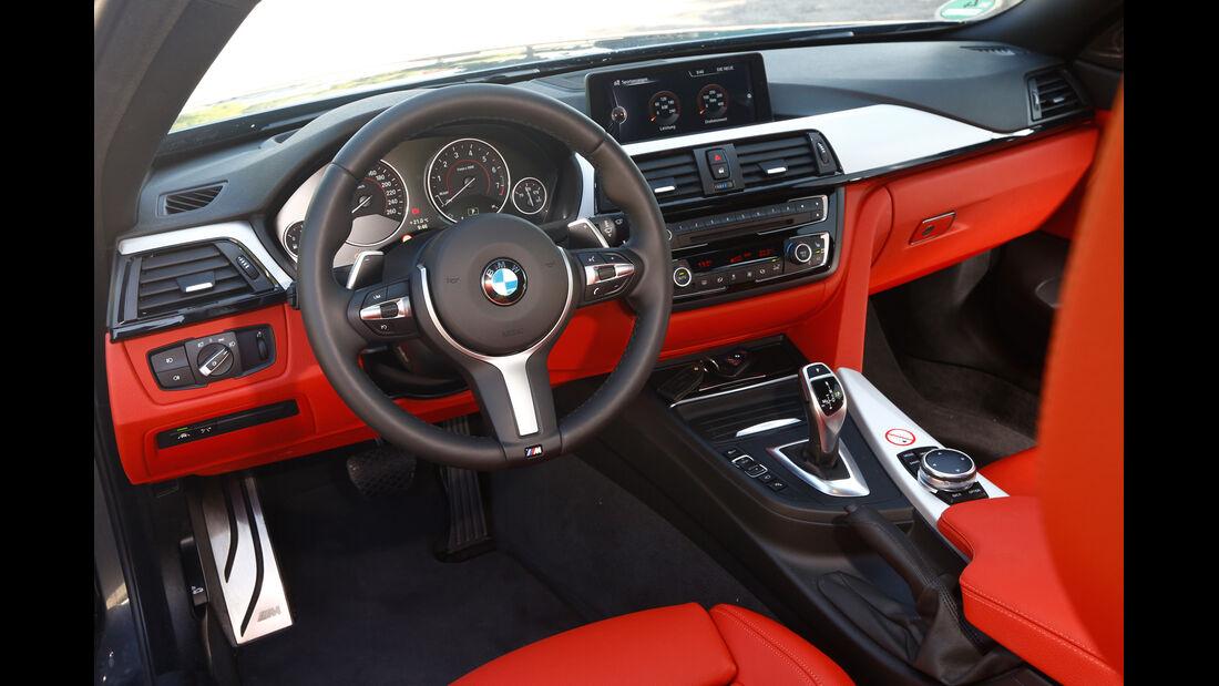 BMW 435i, Cockpit