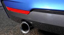 BMW 435i Coupé, Auspuff, Endrohr