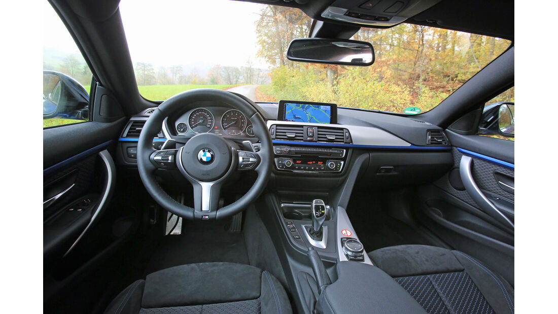 BMW 435i Coupé Aut., Cockpit