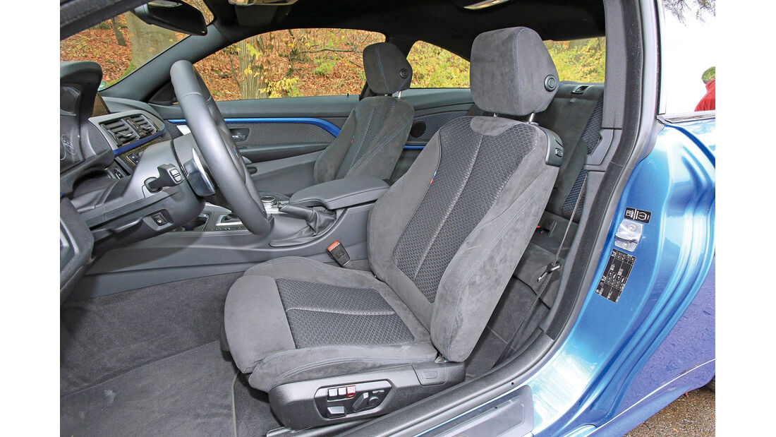 BMW 435i Coupé Aut., Fahrersitz