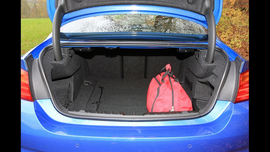BMW 435i Coupé Aut., Kofferraum