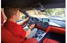 BMW 435i Coupé, Cockpit, Fahrer