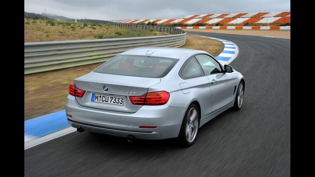 BMW 435i Coupé, Heckansicht