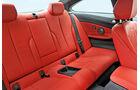BMW 435i Coupé, Rücksitz, Beinfreiheit